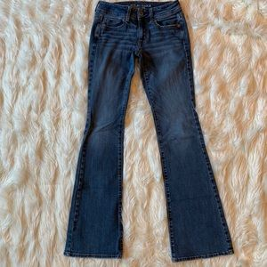 American Eagle Outfitters Kick Boot Jeans, Size 0R